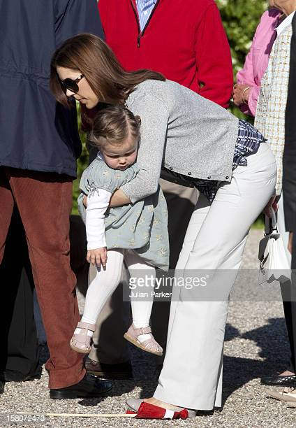 Crown Princess Mary Of Denmark And Princess Isabella On The Morning Of Prince Henriks 75Th Birthday