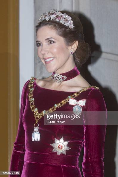 Crown Princess Mary of Denmark arrives at the Traditional ...