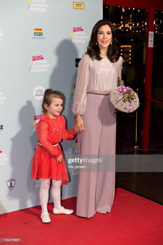 Crown Princess Mary Of Denmark Participates In Danish Rainbow Awards AXGIL : ニュース写真