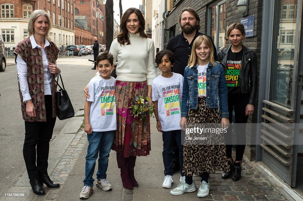 Crown Princess Mary Of Denmark Participates In The Mary Foundations Event Against Bullying In Schools : News Photo