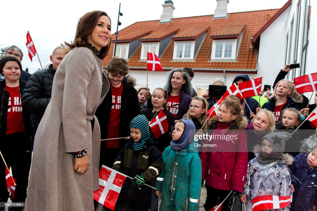 Crown Princess Mary of Denmark Attends Opening Of Home For Vulnerable Children