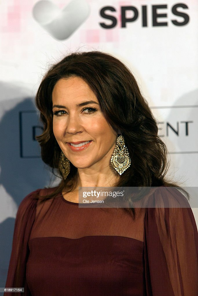 Crown Princess Mary of Denmark arrives to the Danish Talent Award 2016 show at the National Gallery on October 27, 2016 in Copenhagen, Denmark.