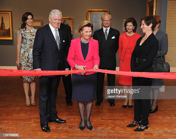 Crown Princess Mary of Denmark ASF President Edward P Gallagher King Harald V of Norway Queen Sonja of Norway King Carl XVI Gustaf of Sweden Queen...