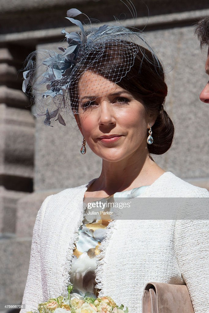 Crown Princess Mary of Denmark at Christiansborg Palace on the occasion of The 100th Anniversary of The 1915 Danish Constitution, on June 5th, 2015 in Copenhagen, Denmark