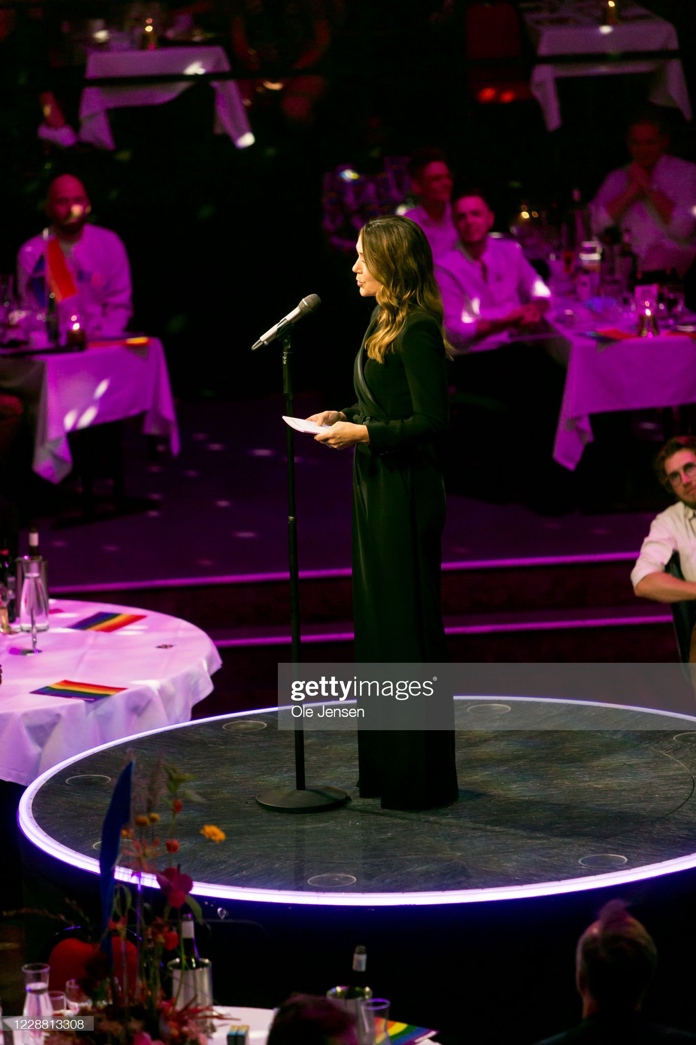 Crown Princess Mary Attends The Danish Rainbow Awards 2020 : News Photo