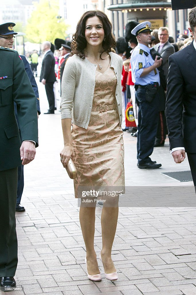 Crown Princess Mary Of Denmark Attend The Tivoli And The Royal Life Guards Celebration Concert For Queen Margrethe Of Denmark'S 70Th Birthday Year At Tivoli Concert Hall, Copenhagen.