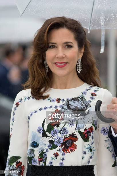 Crown Princess Mary of Denmark attends a Gala Banquet hosted by The Government at The Opera House as part of the Celebrations of the 80th Birthdays...