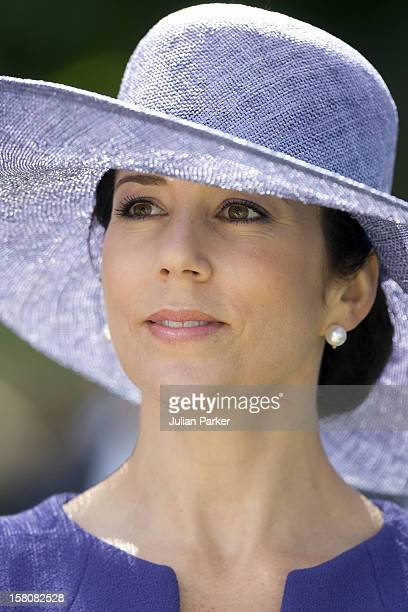 Crown Princess Mary Of Denmark Attends A Parade At Rosenborg Eksercerplads In Copenhagen To Celebrate The 350Th Anniversary Of The Royal Danish Life...
