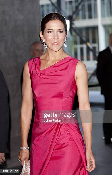 Crown Princess Mary Of Denmark Attends A Reception And Concert At Copenhagens Concert Hall As Part Of The 75Th Birthday Celebrations Of Prince Henrik...