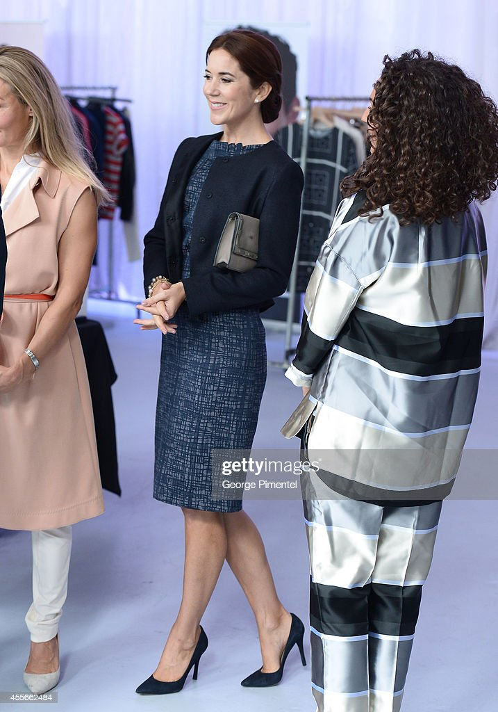 Crown Princess Mary Of Denmark attends official visit to Canada - Day 2 on September 18, 2014 in Toronto, Canada.