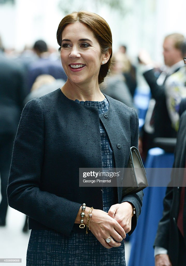 Crown Princess Mary Of Denmark attends official visit to Canada - Day 2 at MARS Discovery District on September 18, 2014 in Toronto, Canada.