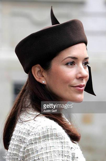 Crown Princess Mary Of Denmark Attends The Opening Of The Danish Parliament In Copenhagen