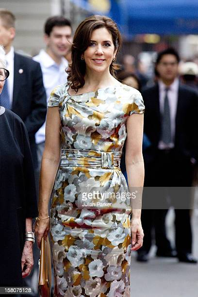 Crown Princess Mary Of Denmark Attends The Opening Of The Exhibition At Scandinavia House In New York ' Luminous Modernism Scandinavian Art Comes To...