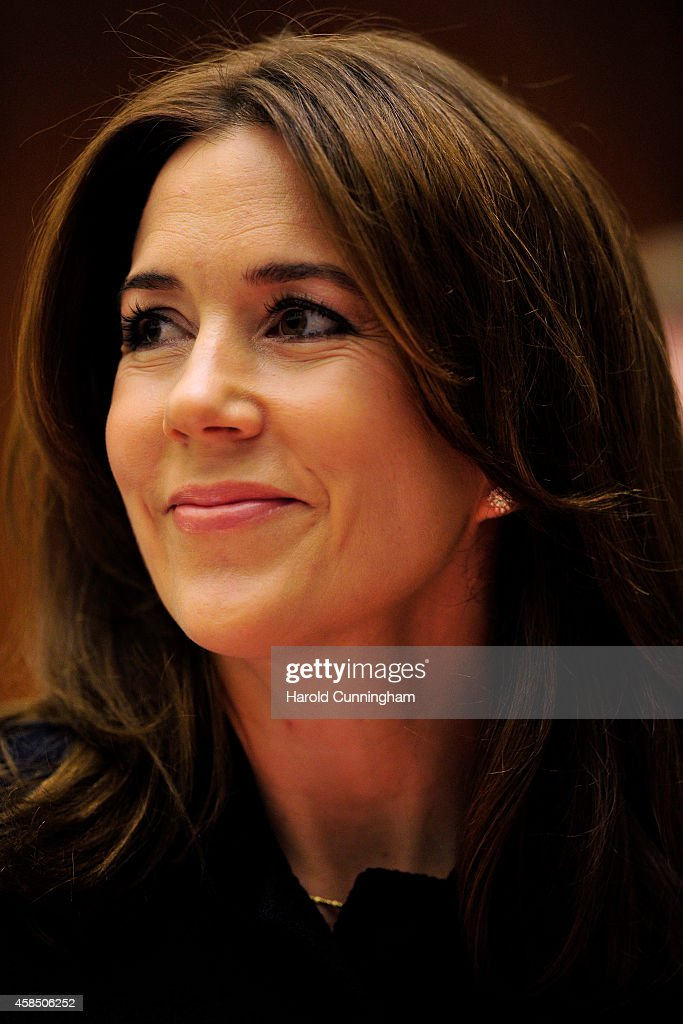 Crown Princess Mary of Denmark attends the regional review meeting of the status of women in the UNECE region 20 years after the Beijing platform for action held at the United Nations Office at Geneva on November 6, 2014 in Geneva, Switzerland.