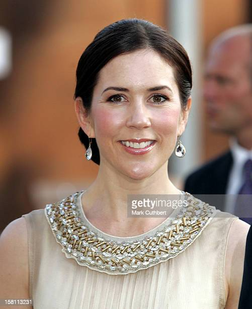 Crown Princess Mary Of Denmark Attends The Silver Wedding Anniversary Celebrations Of Grand Duke Henri Grand Duchess MariaTheresa Of...