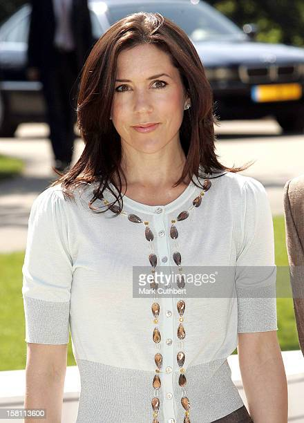 Crown Princess Mary Of Denmark Attends The Silver Wedding Anniversary Celebrations Of Grand Duke Henri Grand Duchess MariaTheresa Of LuxembourgLunch...