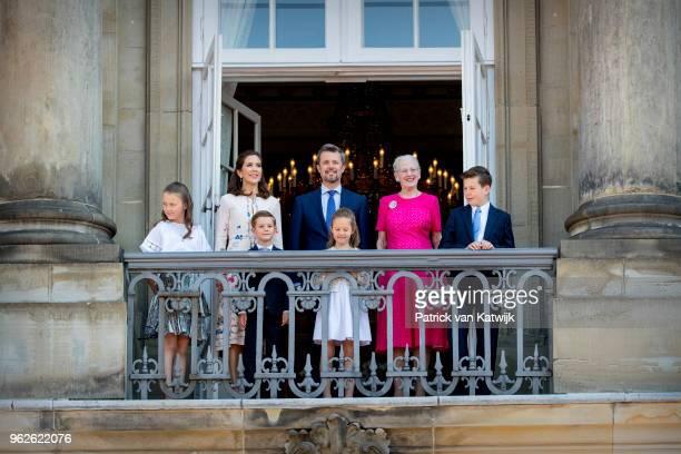 Crown Princess Mary of Denmark Crown Prince Frederik of Denmark Queen Margrethe of Denmark Princess Isabella of Denmark Prince Vincent of Denmark...