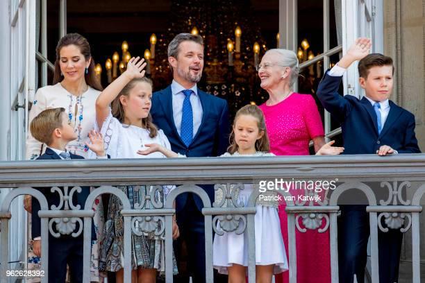 Crown Princess Mary of Denmark, Crown Prince Frederik of Denmark, Queen Margrethe of Denmark, Princess Isabella of Denmark, Prince Vincent of...