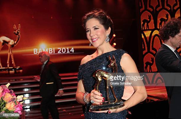 Crown Princess Mary of Denmark during the Bambi Awards 2014 show on November 13 2014 in Berlin Germany