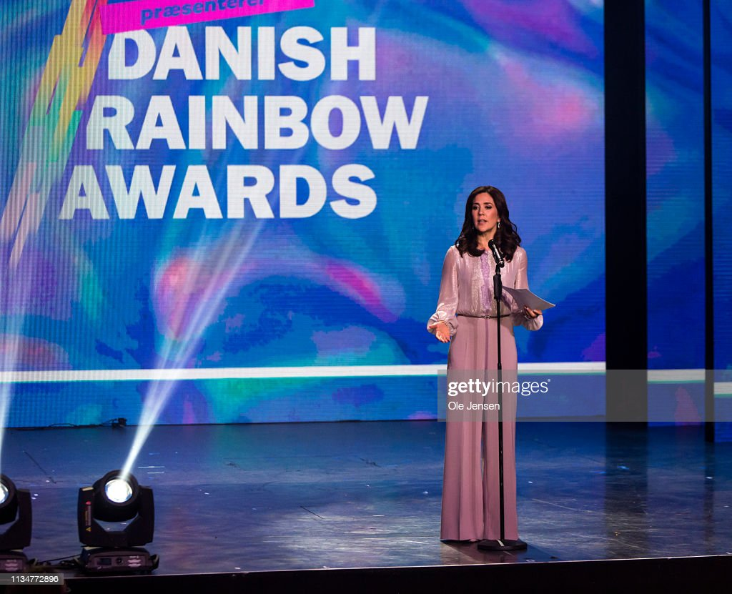 DNK: Crown Princess Mary Of Denmark Participates In Danish Rainbow Awards AXGIL
