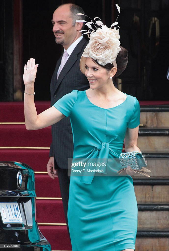 Monaco Royal Wedding - Guest Sightings : News Photo