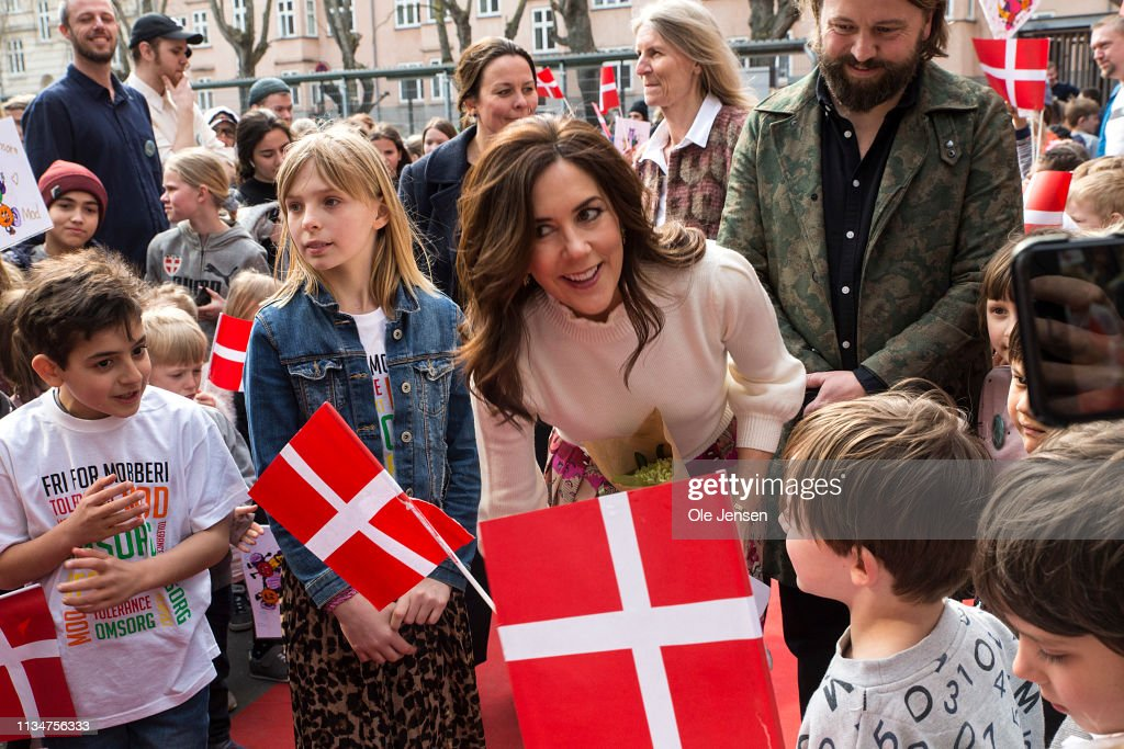 DNK: Crown Princess Mary Of Denmark Participates In The Mary Foundations Event Against Bullying In Schools