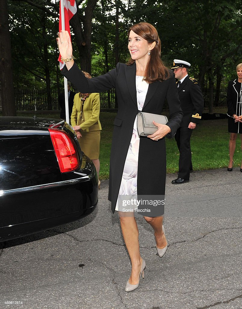 Crown Princess Mary Of Denmark Official Visit To Canada - Day 1 on September 17, 2014 in Ottawa, Canada.