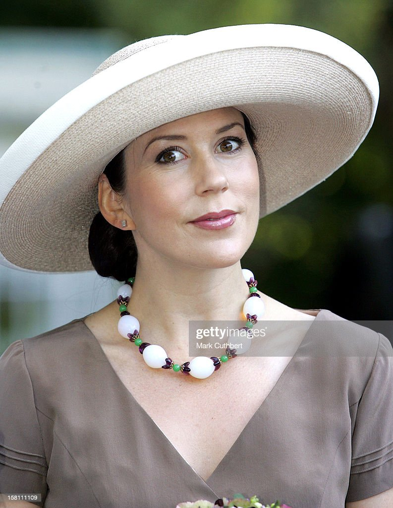 Crown Princess Mary Of Denmark Opens The Garden Living Fair At Frederiksborg Castle. .