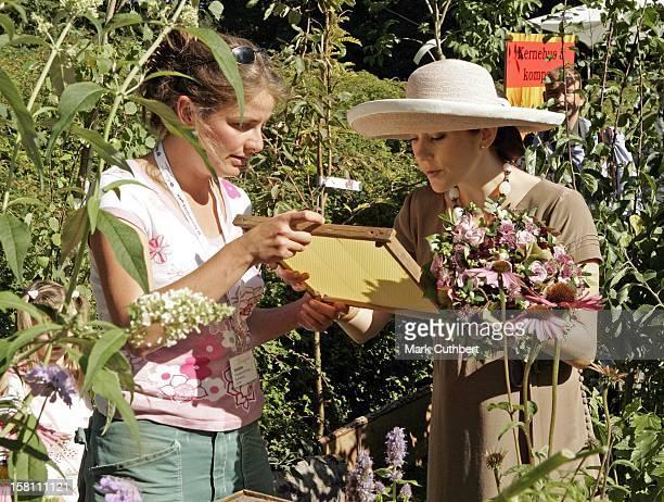 Crown Princess Mary Of Denmark Opens The Garden Living Fair At Frederiksborg Castle. .