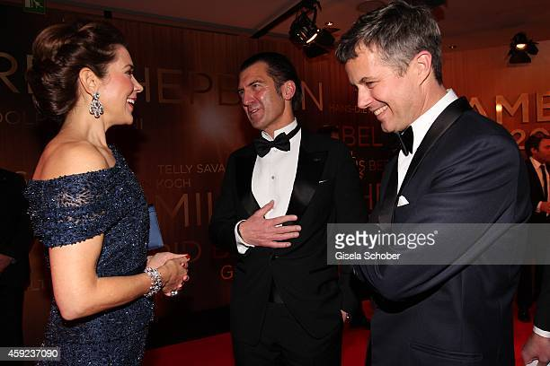 Crown Princess Mary of Denmark Philipp Welte Crown Prince Frederik von Denmark during the Bambi Awards 2014 on November 13 2014 in Berlin Germany