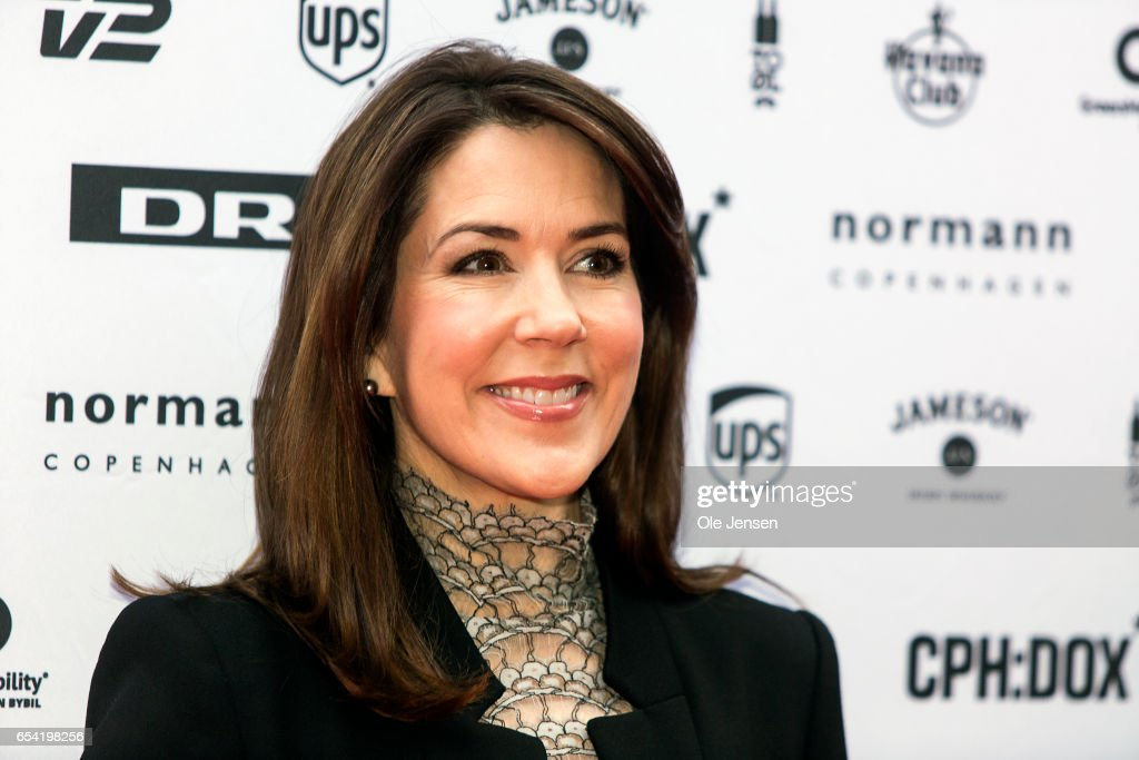 Crown Princess Mary Attends International Documentary Film Festival In Copenhagen : News Photo
