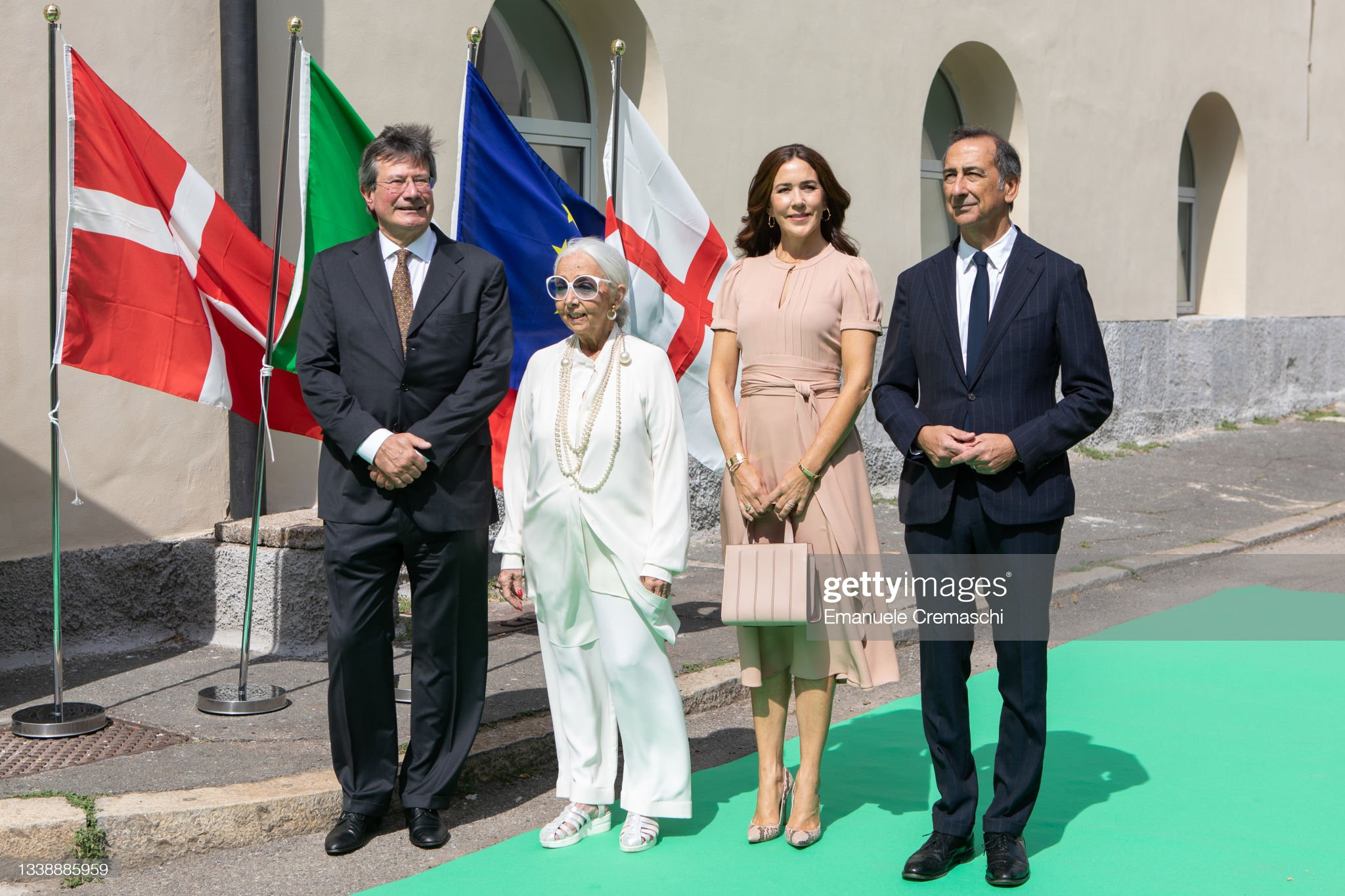 H.K.H. The Crown Princess Participates In Milan Design Week : News Photo
