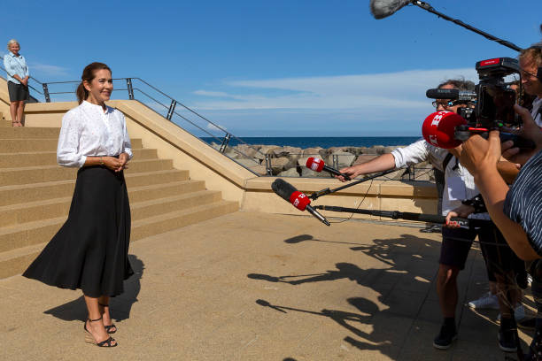 DNK: Crown Princess Mary Of Denmark Assists Release Of Nail Rocks At Kattegatcentret Grenaa Aquarium