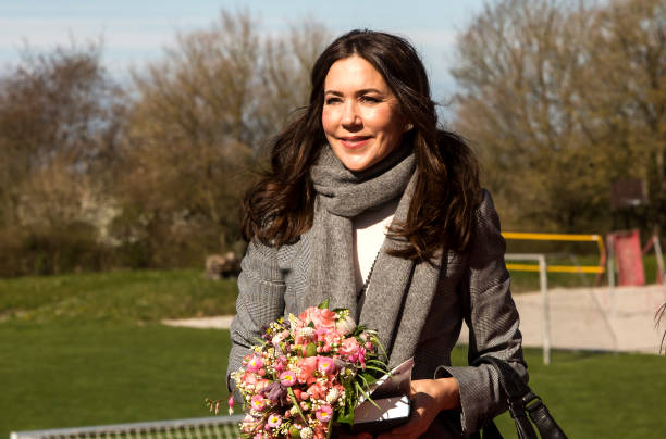 DNK: Crown Princess Mary Of Denmark Attends UNFPA's State Of World Population Report Release