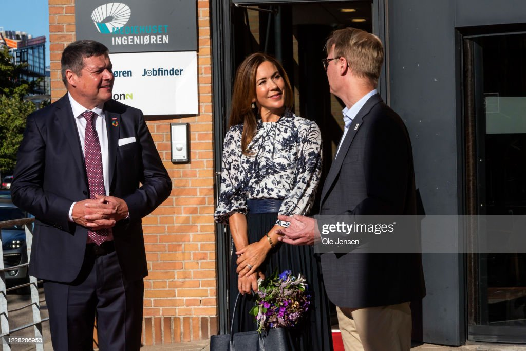 Crown Princess Mary Of Denmark Participates In WWF Event : News Photo