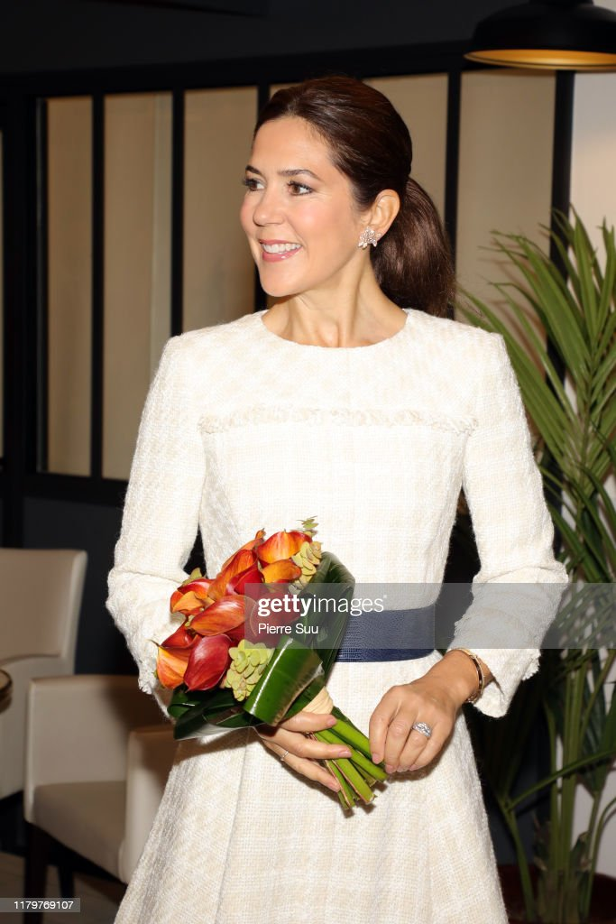 Danish Crown Prince Couple Visit In Paris : Day Two : News Photo