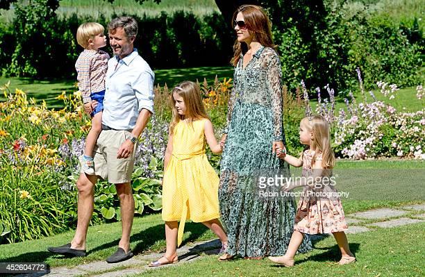 Crown Princess Mary of DenmarkPrincess Josephine of Denmark Princess Isabella of Denmark Crown Prince Frederik of Denmark and Prince Vincent of...