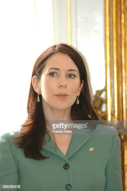 Crown princess Mary participant at Danish Heart Association Annual birthday event in Copenhagen Denmark Mach 102006