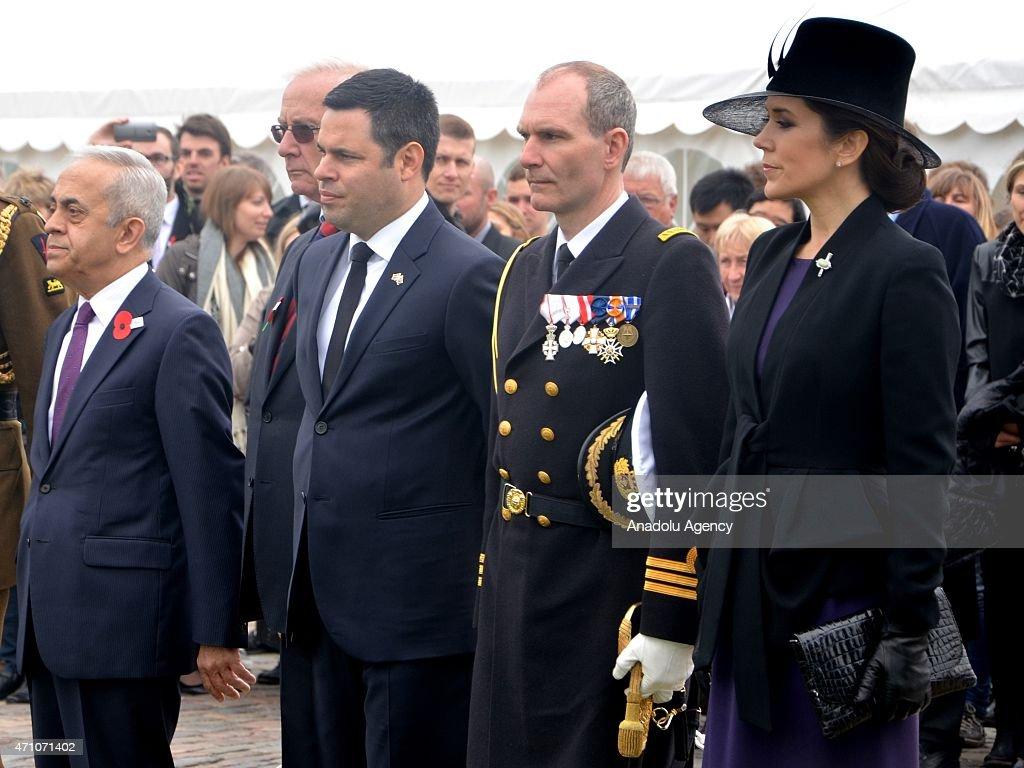 ANZAC Day Commemoration in Copenhagen : News Photo