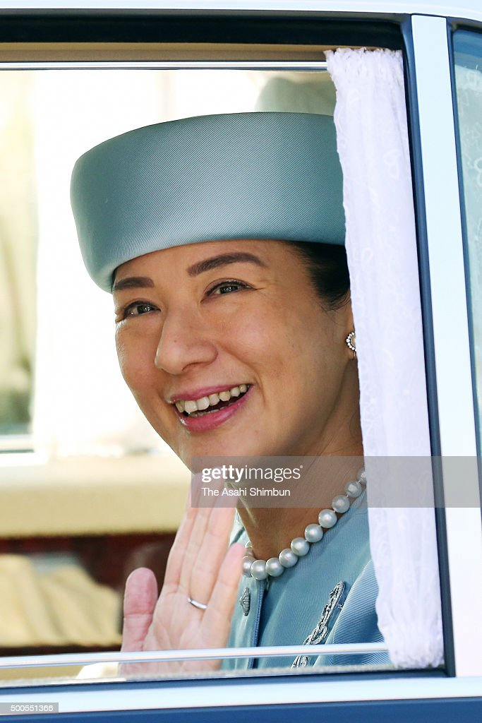 Crown Princess Masako Turns 52 : News Photo