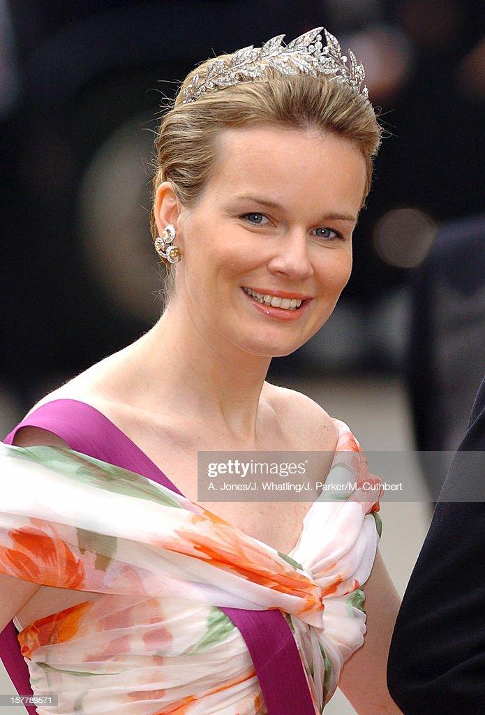 The Wedding Of Crown Prince Frederik & Mary Donaldson : News Photo