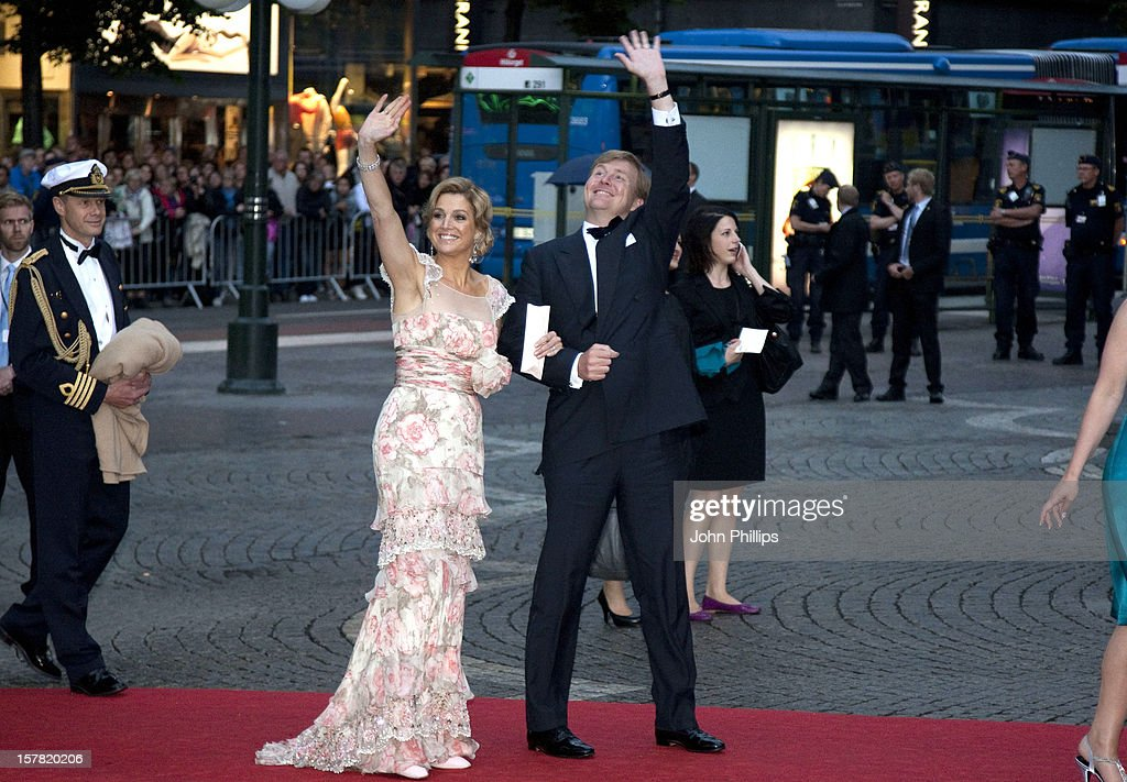Swedish Government Royal Wedding Dinner - Stockholm : Nachrichtenfoto