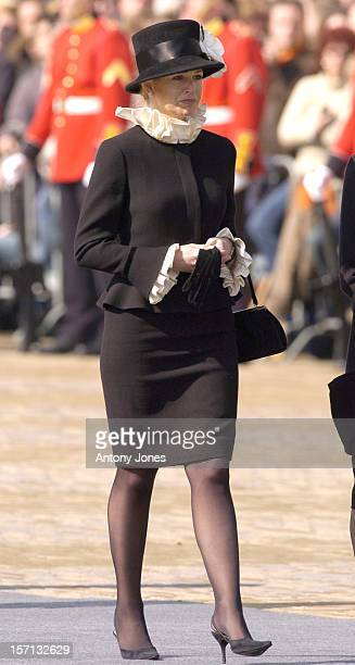 Crown Princess Maxima Attends The Funeral Of Hrh Princess Juliana Of The Netherlands At The Nieuwe Kerk In Delft