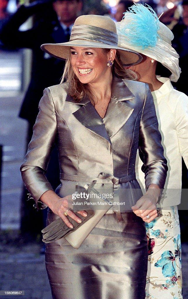 Prince Constantijn & Princess Larentien Royal Wedding : Nachrichtenfoto