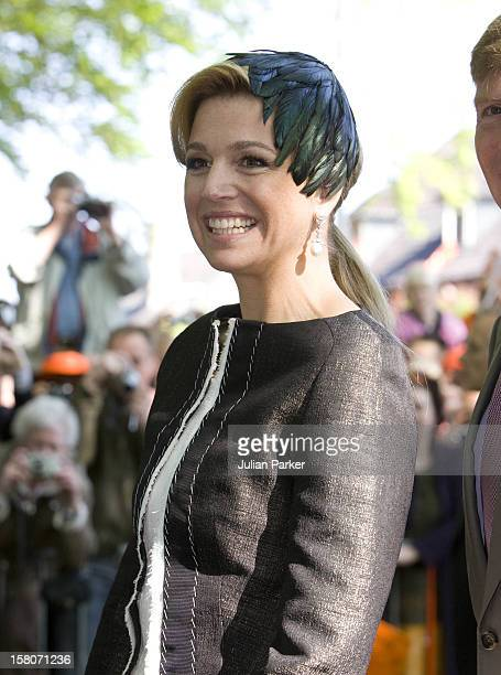 Crown Princess Maxima Of Holland During Dutch Queens Day Celebrations In Apeldoorn Holland