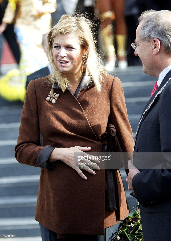 Princess Maxima : News Photo