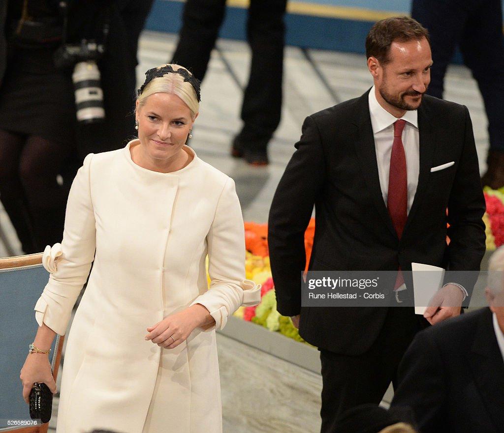 Norway- Nobel Peace Prize Ceremony in Oslo : News Photo