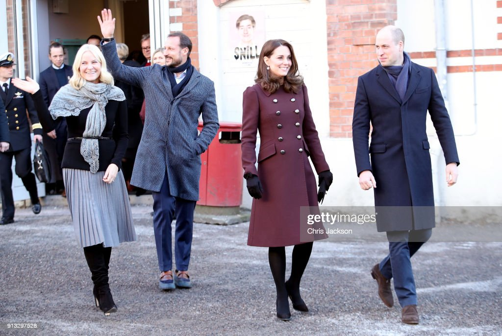 The Duke And Duchess Of Cambridge Visit Sweden And Norway - Day 4 : Nieuwsfoto's