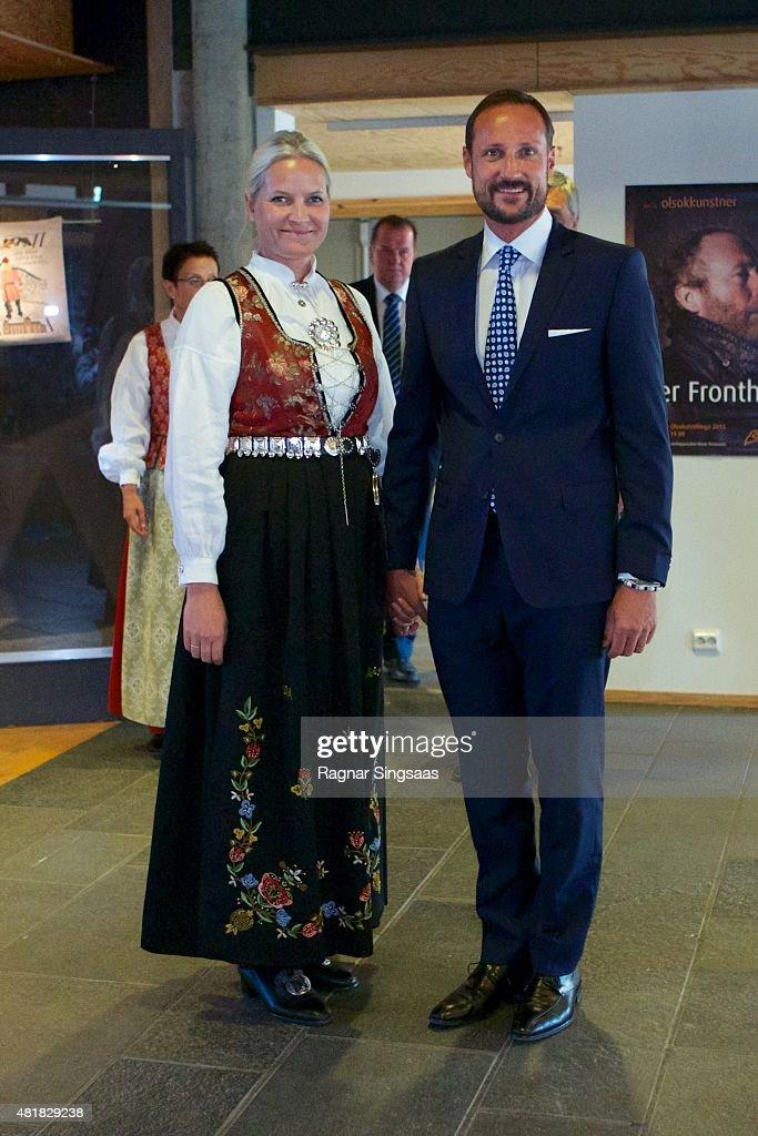 Norwegian royals Attend The Saint Olav Festival 2015 : News Photo