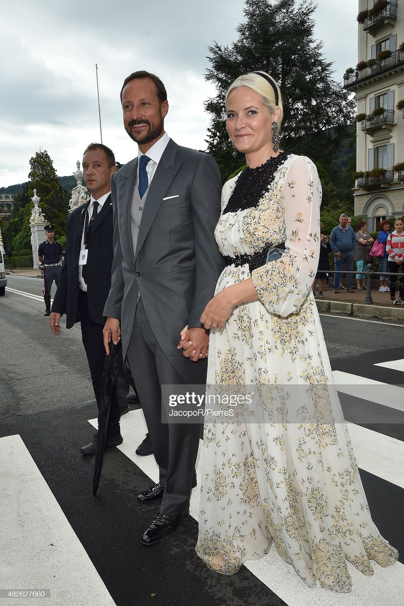 Celebrity Sightings During Pierre Casiraghi And Beatrice Borromeo Wedding : News Photo